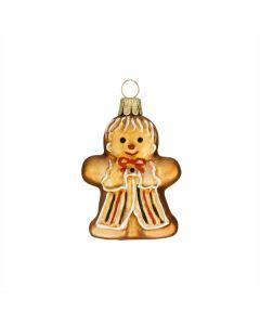 Figur, Lebkuchen Mann, altgold