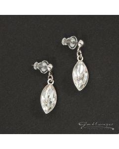 Ohrstecker, mit Swarovski®-Kristallen Crystal