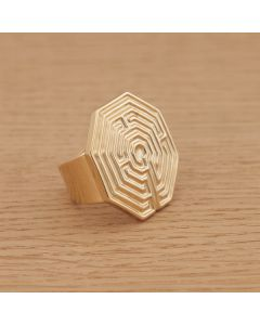 "Ring ""AMIENS"", gold"